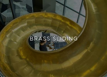The Golden Brass Slide