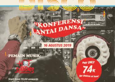 Kerupuk Disco - Konferensi Lantai Dansa