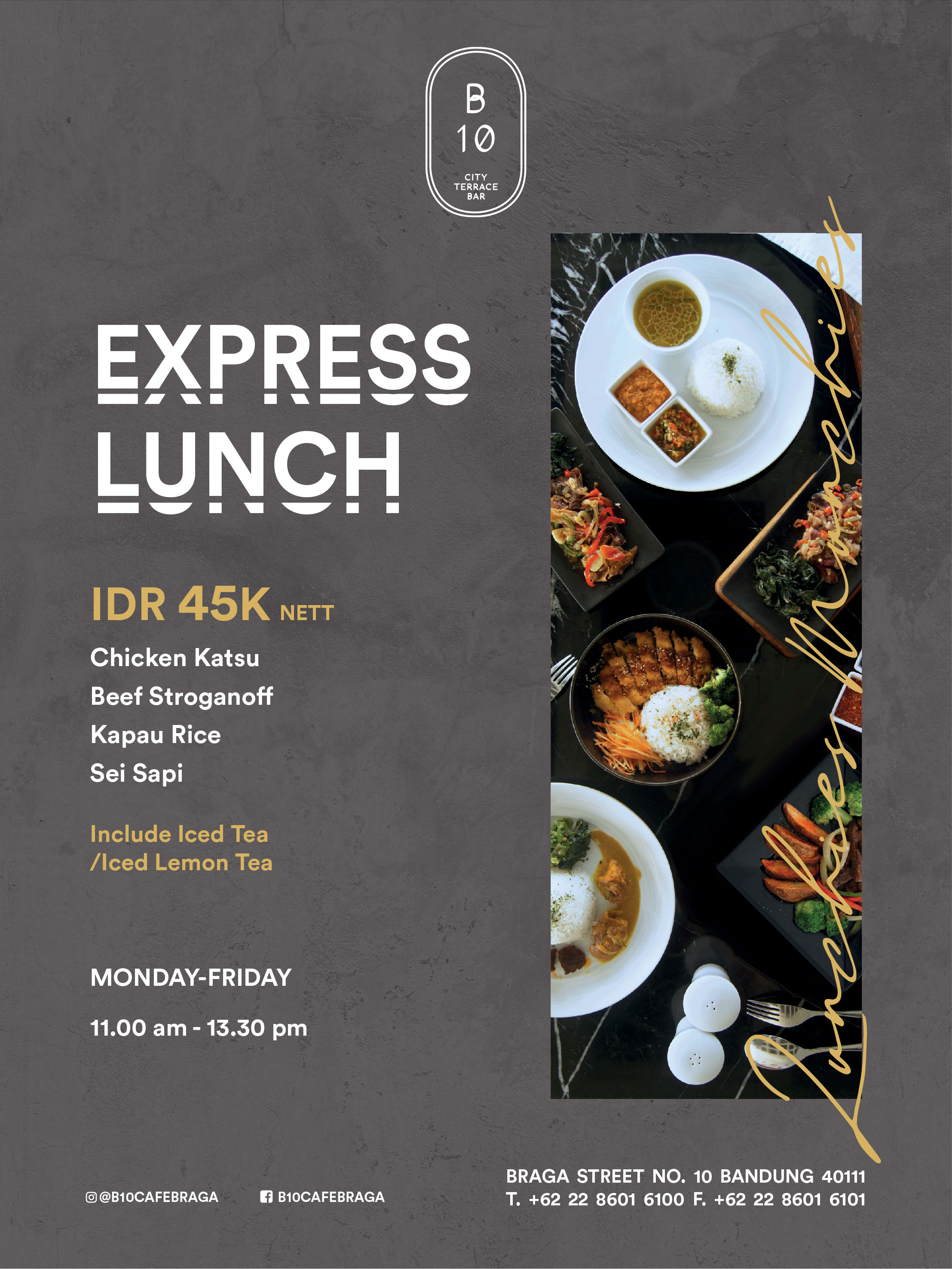 Express Lunch for web-01