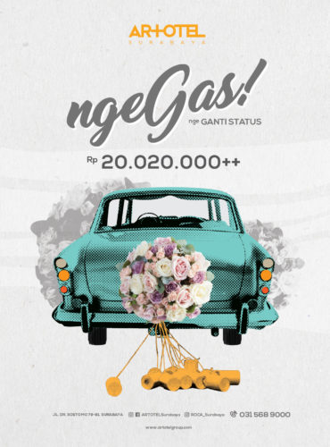 Nge'GAS-Wedding Package by ARTOTEL Surabaya