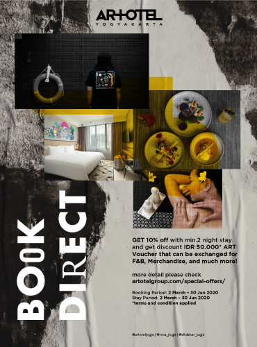 Book Direct Your ARTOTEL!